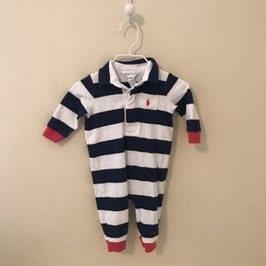 Ralph Lauren Polo Rugby stripe ONE PIECE